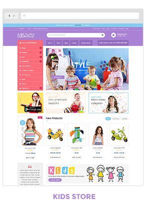 Lilac Fashion Responsive WordPress Woocommerce Theme Themes Plugin Blogger Business