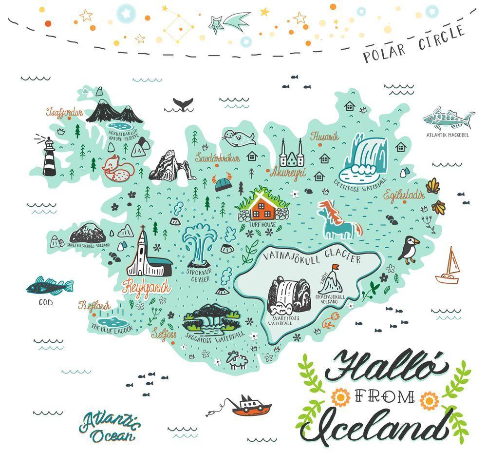Natural Disasters Iceland Iceland Map Iceland Wallpaper Aph Iceland Iceland Hotels Icelandic Sweaters Pattern Iceland M In 2020 Karte Island Island Reise Karten
