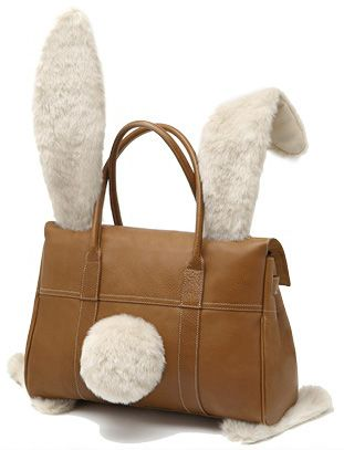 Mulberry bunny bag. So much better than a basket, right? http://www.vogue.com/vogue-daily/article/down-the-rabbit-hole-vogue-commissions-custom-bunnies-for-easter/