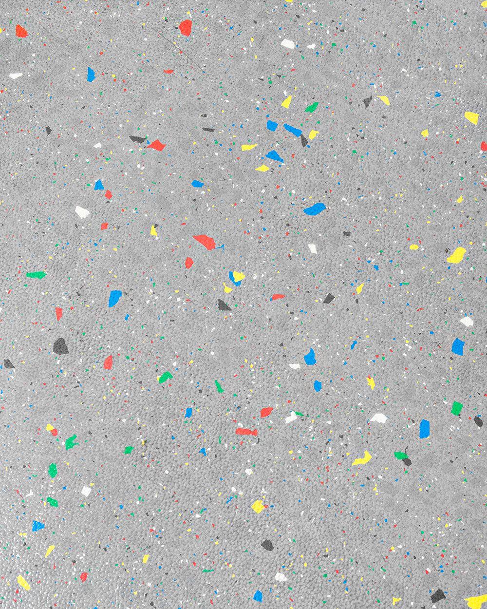 Some Kind Of Speckled Linoleum Or Rubber Flooring Possibly
