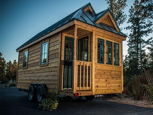 Cypress Tumbleweed Tiny Homes Tiny House Exterior Tiny