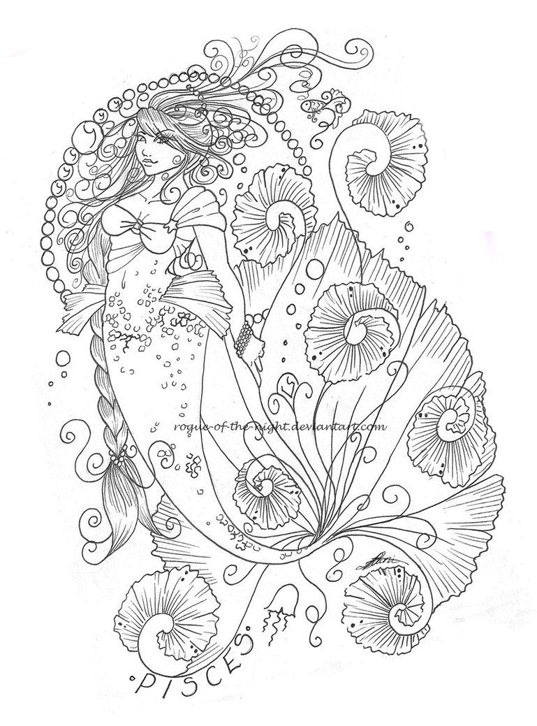 Pisces by Rogue-Of-The-Night on DeviantArt --> If you\'re in the ...