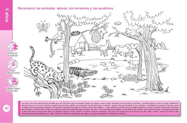 Dibujos De Animales Terrestres Para Colorear E Imprimir: Resultado De Imagen Para Paisajes Animales Terrestres