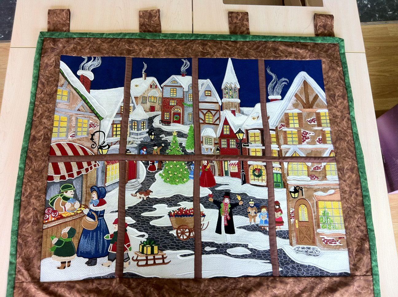 Anita Goodesign Christmas Village Anita Goodesign