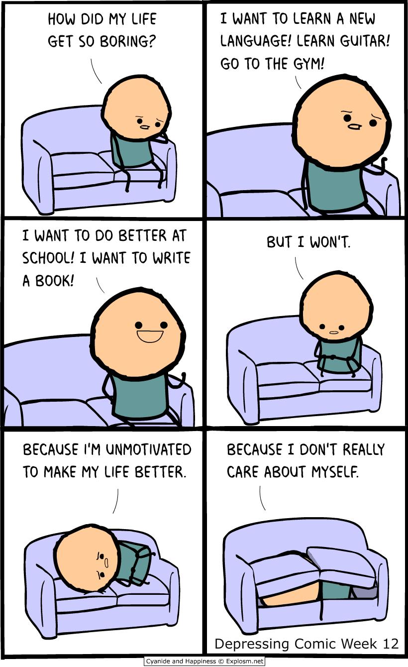 Funny Boob Cartoons explosm)   depressing comic week, top memes, best funny