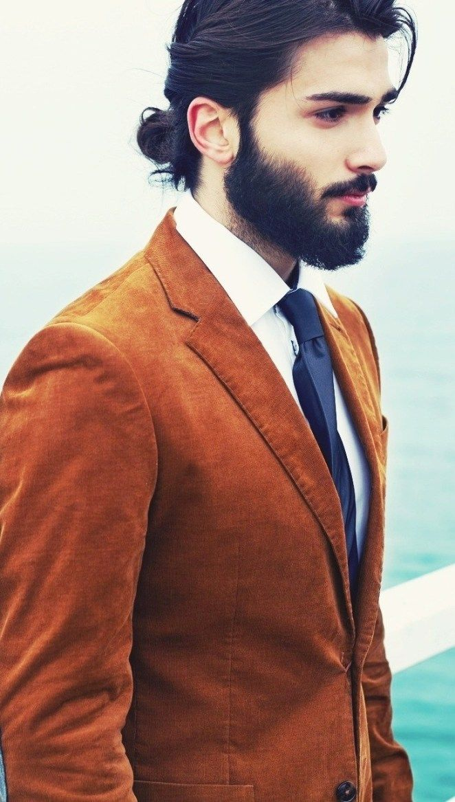 Excited For Carrying A Man Bun Want To Look Stylish Along With A Tinge Of Classy Look You Re Ju Man Bun Hairstyles Long Hair Styles Men Hair And Beard Styles