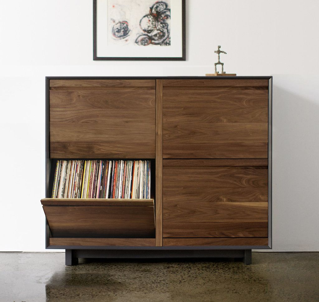 Aero 51 Double Lp Storage Cabinet Symbol Audio Vinyl  # Meuble Tv Hifi But
