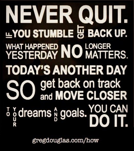 Never Give Up Never Surrender Quotes Motivation Motivational