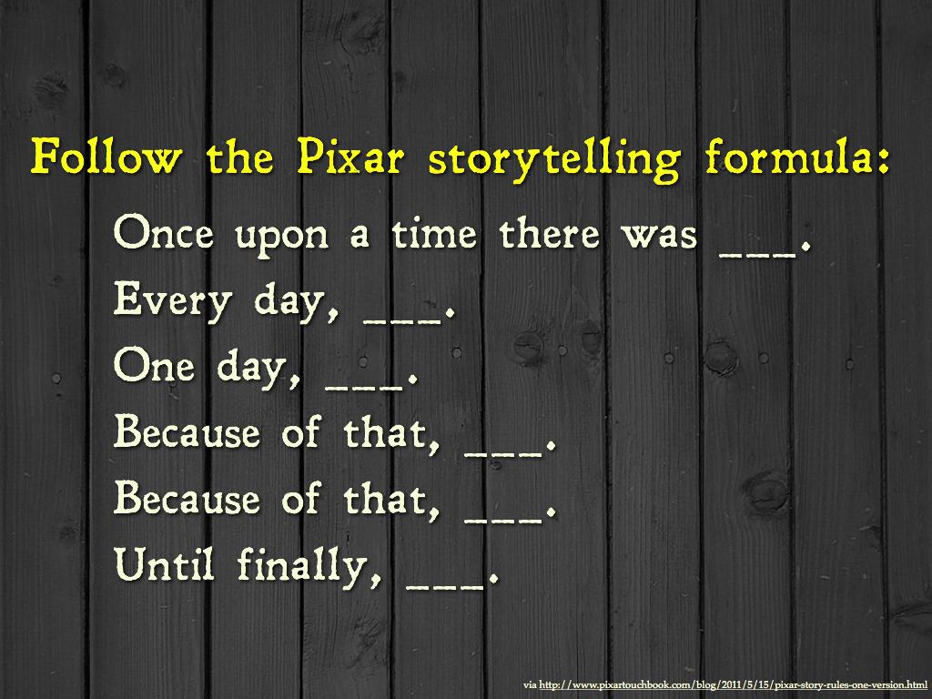 Yksinkertainen tarinakaava