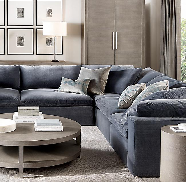 Cloud Modular Customizable Sectional With Images Restoration Hardware Living Room Modular Sofa Sectional Sofa