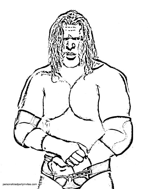 WWE Printable Coloring Pages Free Printable WWE Coloring Pages