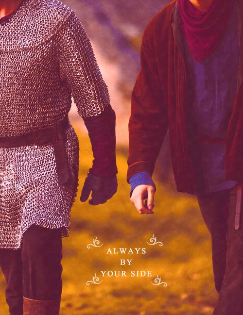 I can't promise to fix all your problems but I can promise that you won't have to face them all alone. Arthur & Merlin