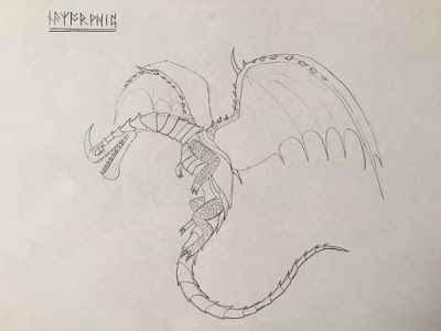 Razorwhip Toothless The Nightfury Razor Whip Dragon Sketch