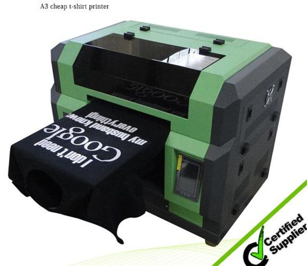 Best A3 cheap dtg printer t shirt printing machine with ...