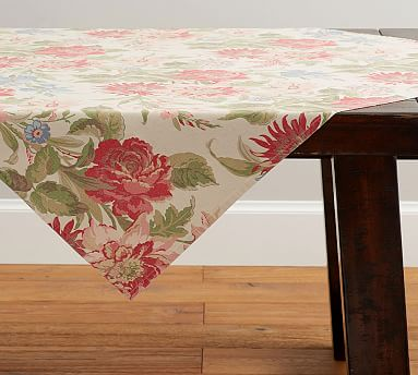 Marla Fl Table Throw Potterybarn