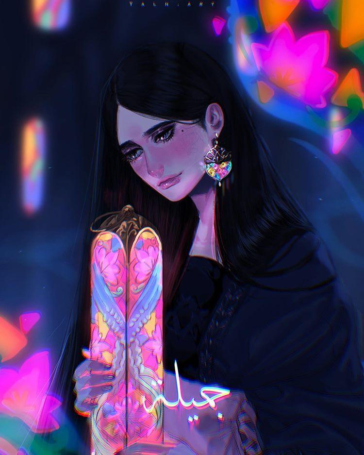 جميلة اسمها جميلة وهي ابنه لوحش وامها حسناء او جميلة جدا وهي تعيش مع الارواح و الوحوش وهي صديقه لحارس غابة الاشباح ل Character Disney Characters Disney