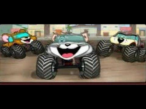 tom y jerry: en carreras de monster truck  / juegos para niños