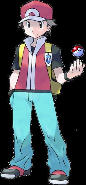 Pokemon Trainer Red Pokemon Trainer Red Pokemon Firered Pokemon Manga