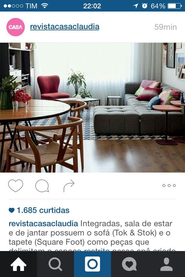 Tapete azul e sofá cinza | Tapete azul, Tapetes, Sofá tok stok