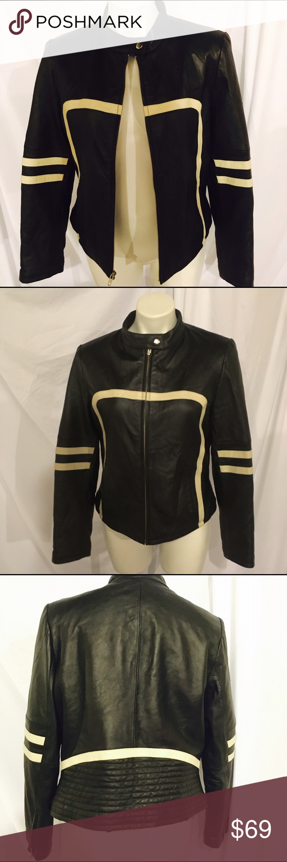 Vintage Wilsons Leather Maxima leather Jacket S (With