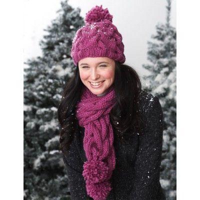 Free Intermediate Women\'s Hat | Free Knit Hat Patterns | Pinterest ...