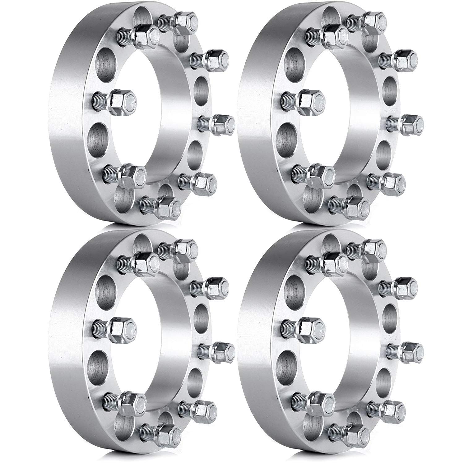 Eccpp Wheel Spacers Wheel Spacer Adapters 4x 1 5 8x6 5 To 8x6 5 8x165 1 Mm For 99 10 Chevy Silverado Gmc Sier Gmc Sierra Chevy Silverado 2010 Chevy Silverado