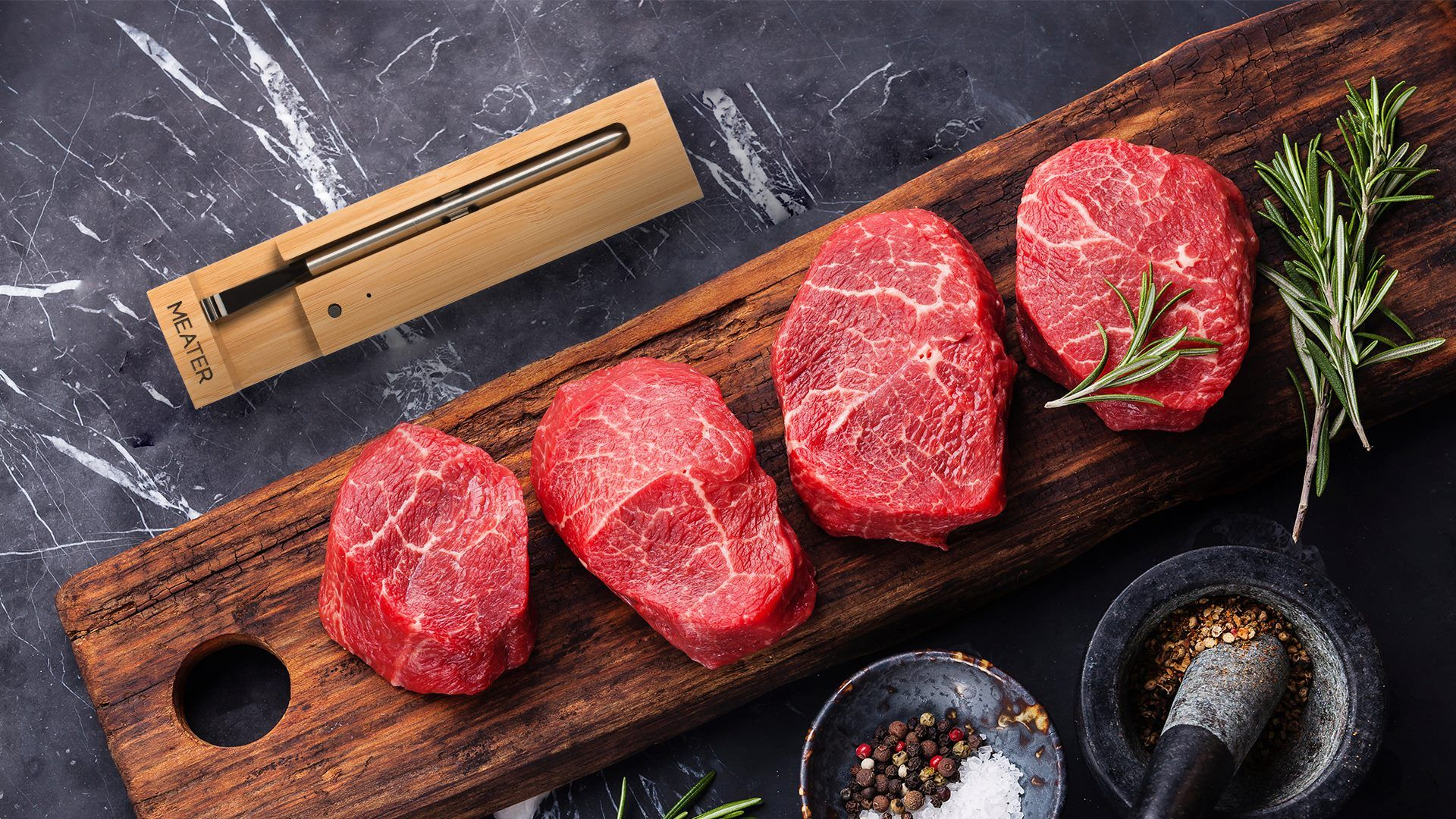 MEATER® | Wireless Smart Meat Thermometer | For BBQ & Kitchen Cooking |  Meater, Cooking kitchen, Smart cooking