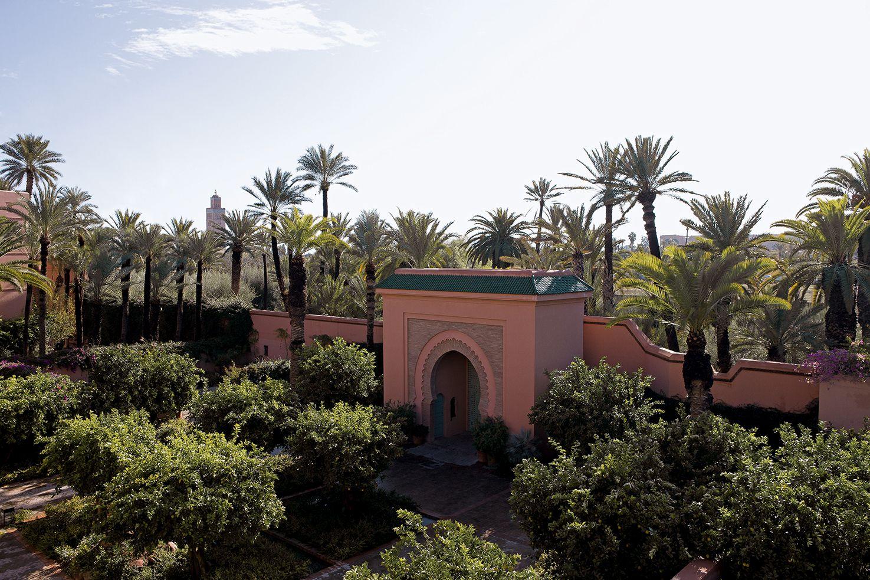 An Oasis Of Calm In Royal Mansour Medina Only A 10 Minute Stroll To The Souks Royalmansour Marrakech Gardens Medina Travel Luxurytravel Marokko