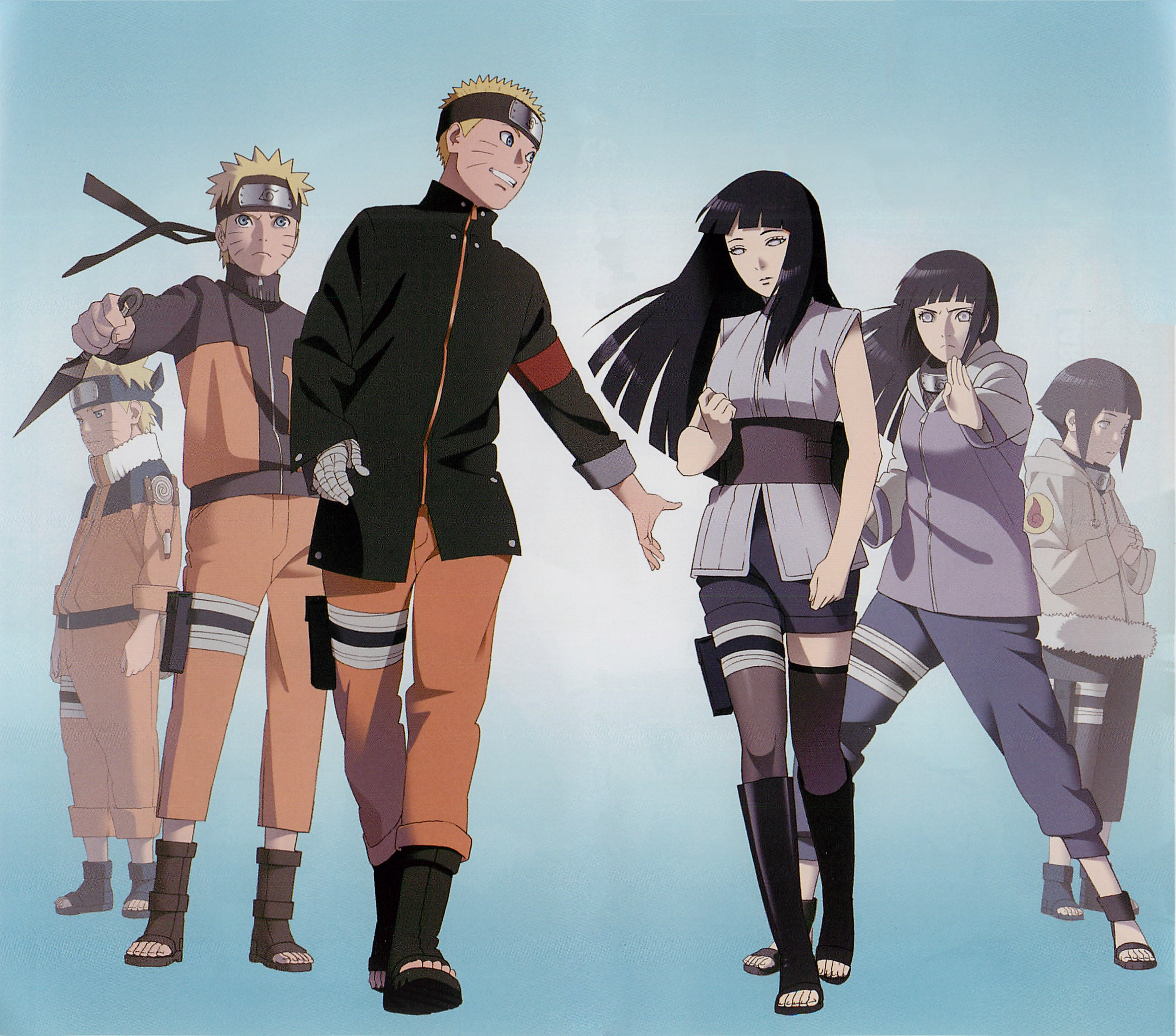 Cleared Naruto + Hinata art from the last booklet by Exkirion on DeviantArt