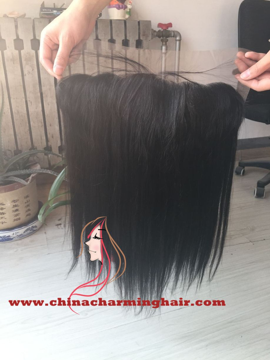 human hair lace frontal closure www.chinacharminghair.com