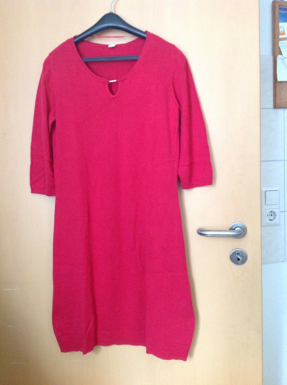 kleid strickkleid von s.oliver gr. 40, rot | ebay