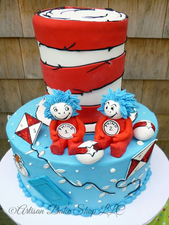 Image Result For Thing 1 First Birthday Dr Seuss Party