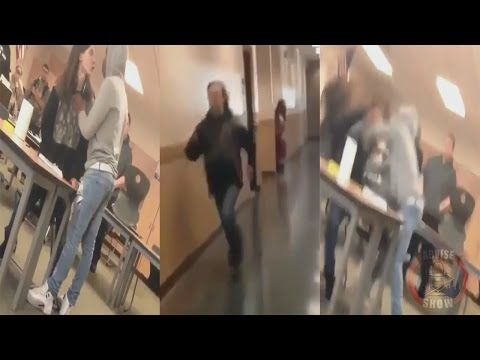 White Supremacist Teen Calls Black Student A N*gger & Runs For His Life - YouTube