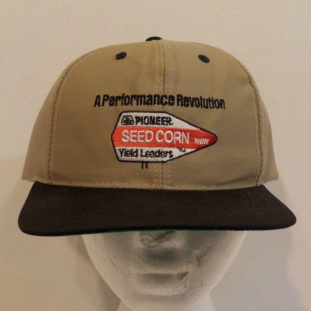 3edf5550f Pioneer Seed Corn Yield Leaders Snapback Baseball Hat Cap | Baseball ...
