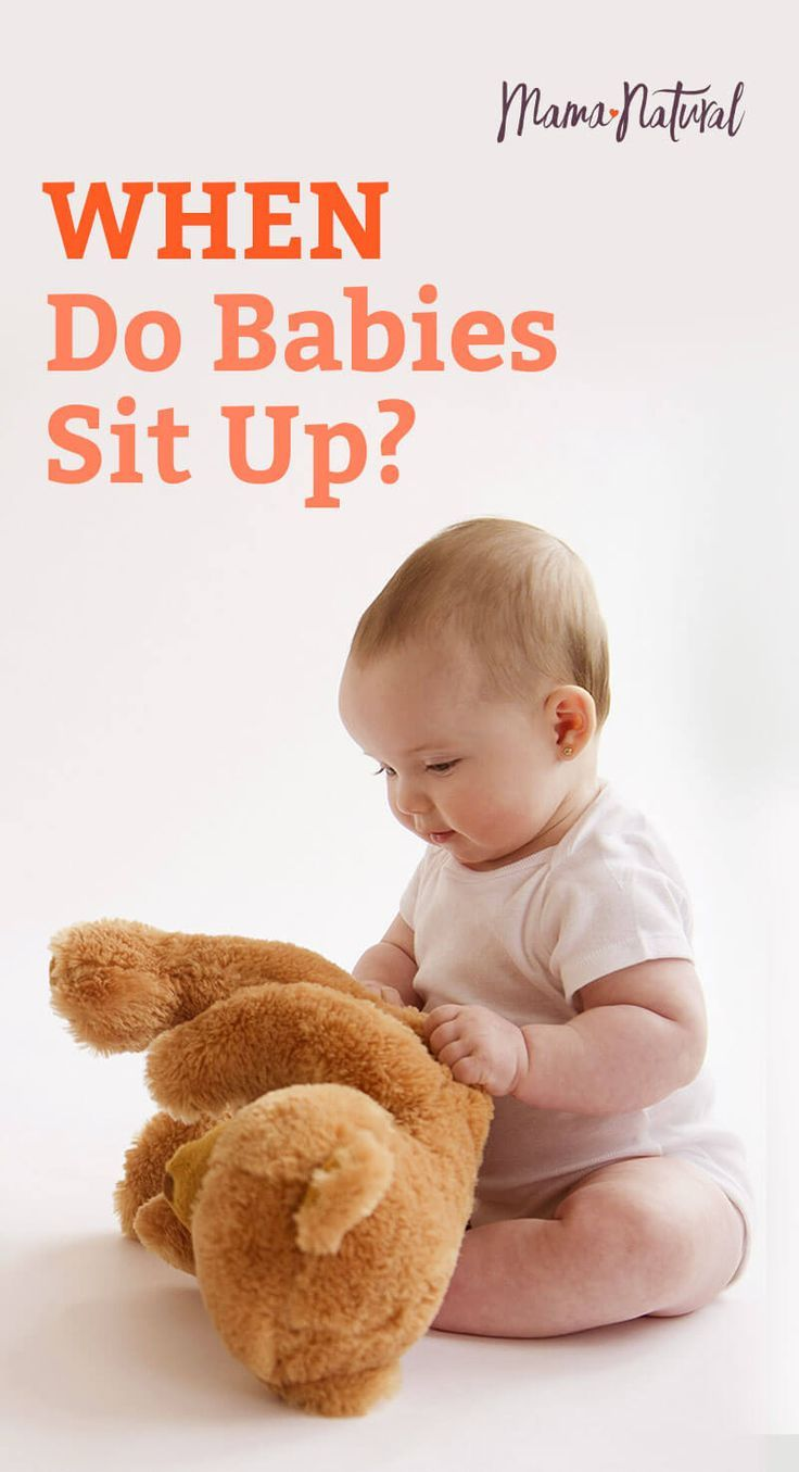 When Do Babies Sit Up? Plus, 4 Things That Can Help (With ...