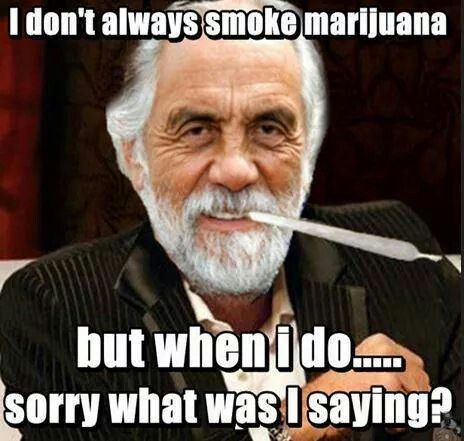 I dont always...but when i do...