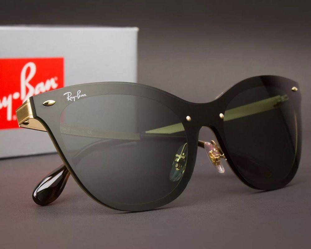 a3eea6ead Óculos de Sol – Ray Ban® RB3580 – Blaze Cat Eye – Black | sunnies ...