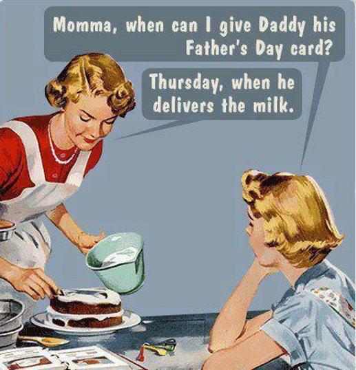 the milk man....