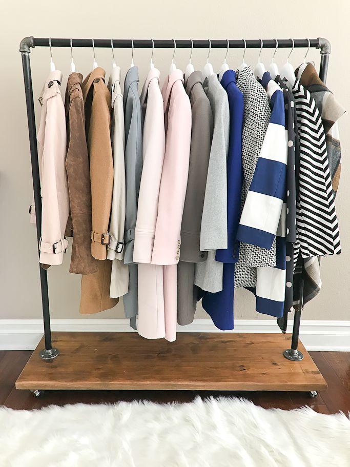 Petite Size Hangers Junior Size Hangers Clothing Rack Stylish