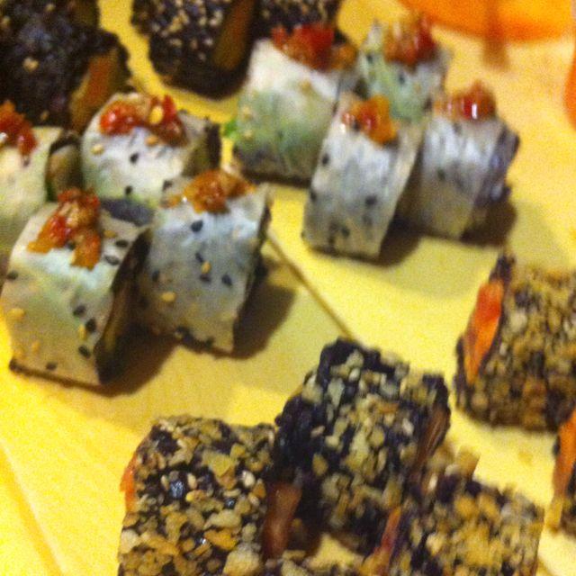 Black Rice Sushi at Union!