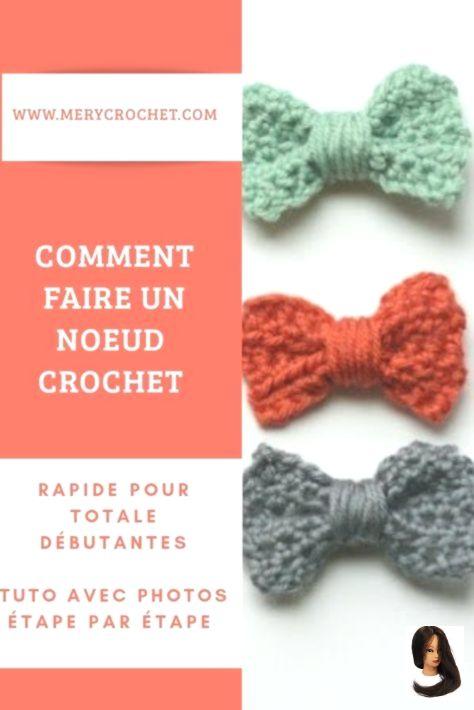 noeud en crochet patron gratuit tres facile et rapide en français pour debutant