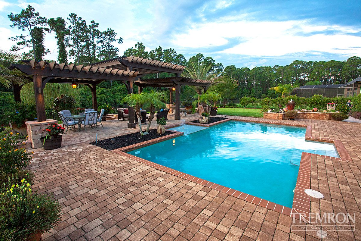 Pool Pavers By Amy Owens In 2020 Tampa Florida Pool Pavers Backyard Design
