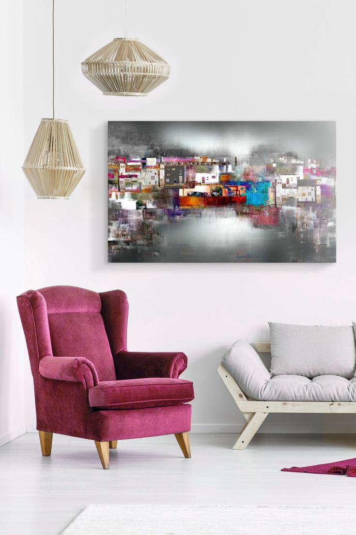 Leinwandbild Hafen der Künstler | Pinterest