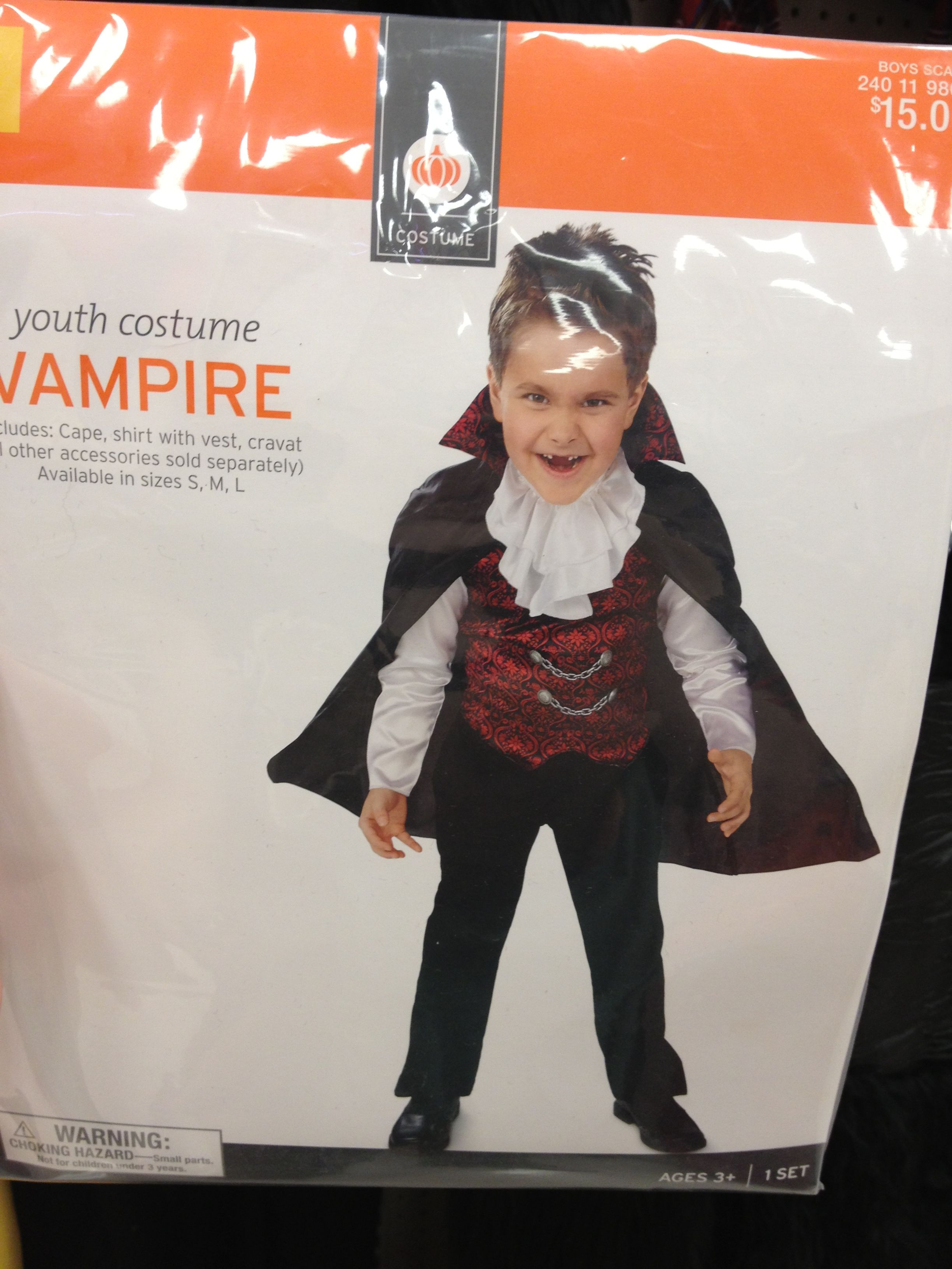 toddler vampire costume for halloween found at target | halloween