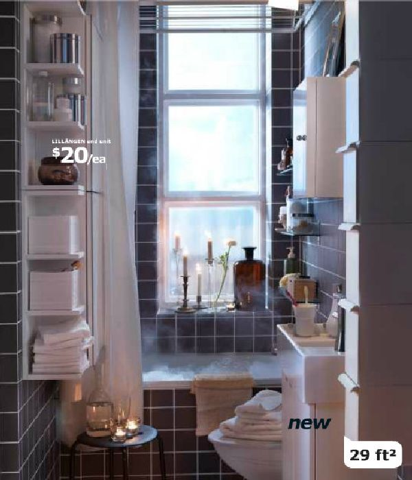 Bathroom Design Ideas From IKEA 2012 Product Catalogue New Released