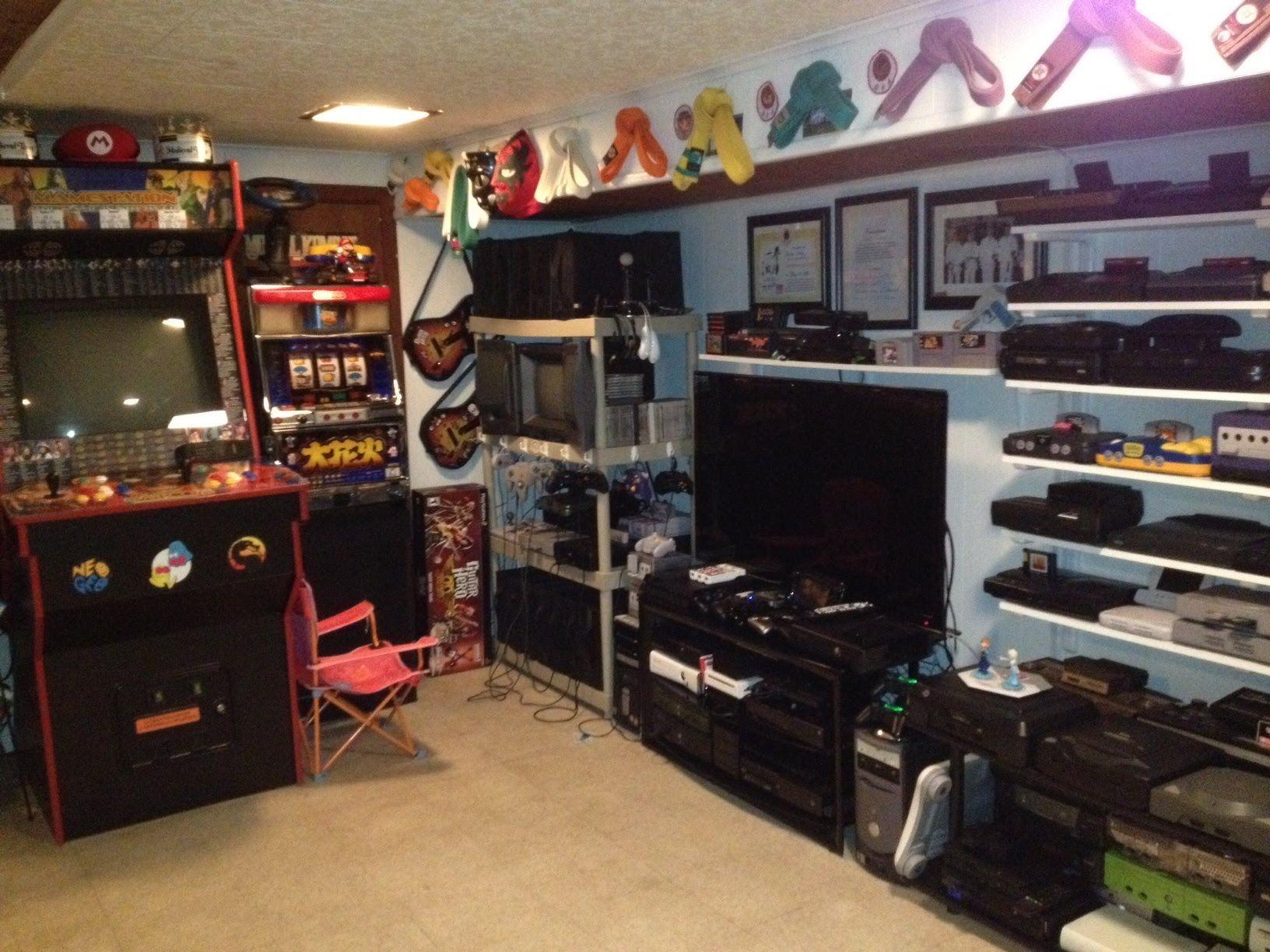 Nice NEW 2015   Game Room Tour