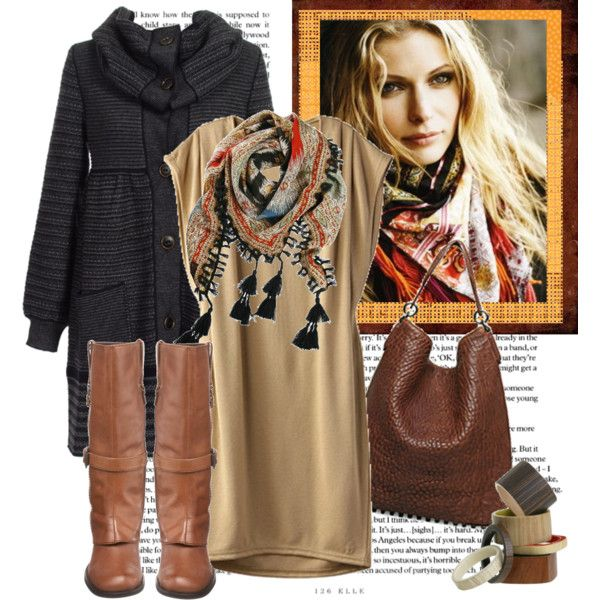 Winter Boho By Heather On Polyvore Featuring Biviel