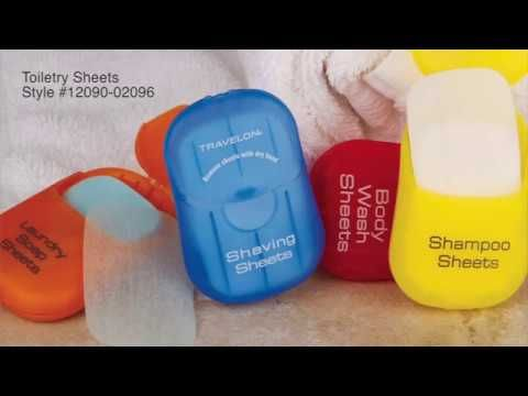 Travelon Laundry Soap Toiletry Sheets Laundry Detergent Sheets