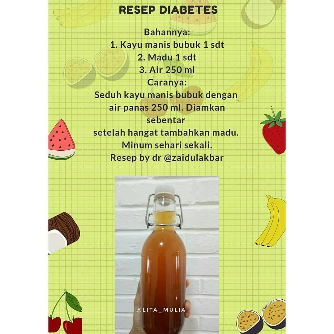 0 Tidaklah Allah Resep Diabetes Resep Diet Sehat Resep Sehat