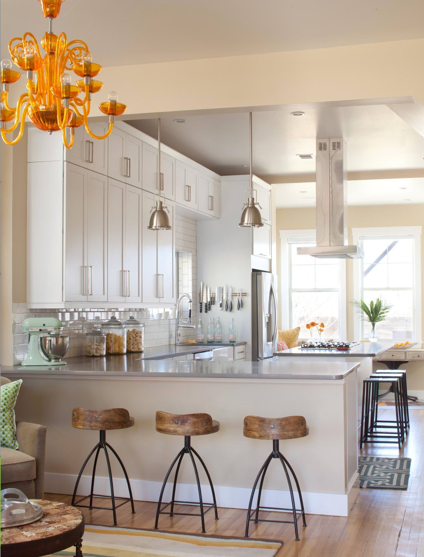 Pin by Cynterest on When I have my own kitchen   Eclectic kitchen ...